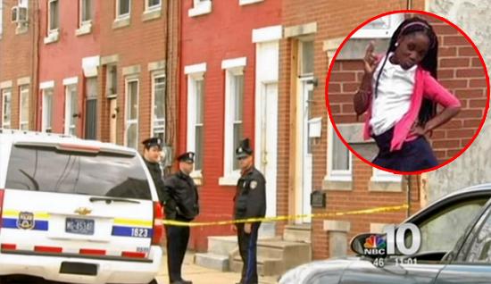 Cảnh sát phong tỏa căn nhà của Jamara để điều tra.