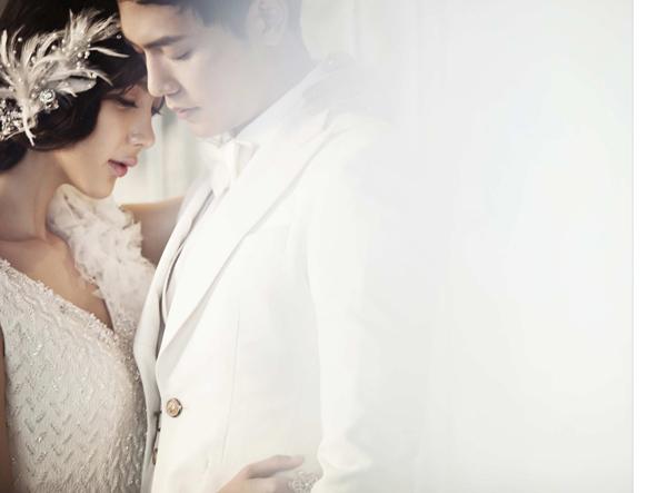 Uyên ương lộng lẫy với ảnh cưới Hàn Quốc