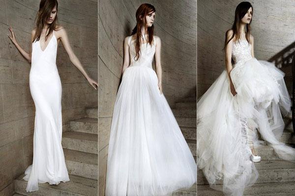 Xu hướng váy cưới `gây bão` mùa xuân 2015