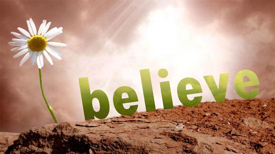 Niềm tin không nản chí
