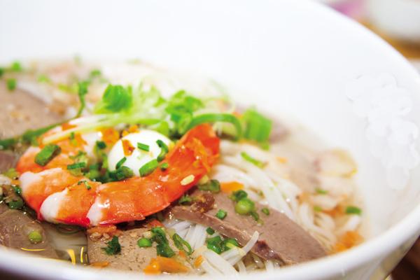 Hủ tiếu Nam Vang cũng là một món ăn ngon miệng được thực khách ưa thích ở quán.