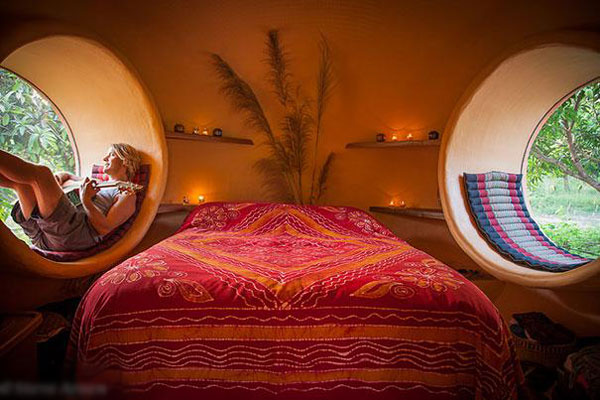 Nhà mái vòm - chốn nghỉ dưỡng tuyệt hảo cho những người lãng mạn ở Thái Lan.