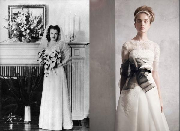Váy cưới sexy lấy cảm hứng từ Marilyn Monroe