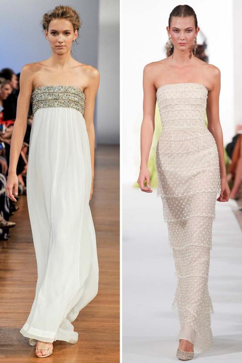 Những kiểu váy cưới có thể mặc sau hôn lễ