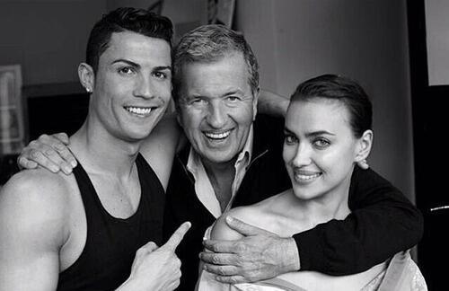 Buổi chụp hình của cặp đôi cho Vogue diễn ra từ tháng 3. Thời điểm đó, C. Ronaldo hé lộ một số bức ảnh hậu trường chụp chung với nhiếp ảnh gia nổi tiếngMario Testino