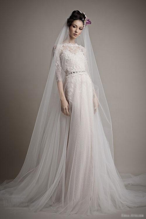 Vẻ đẹp cổ điển của váy cưới Ersa Atelier