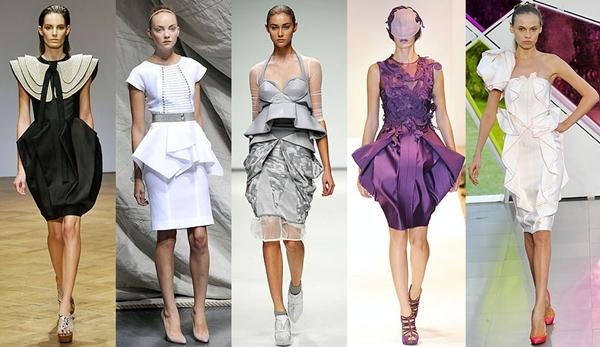 Xu hướng váy quấn Origami phong cách