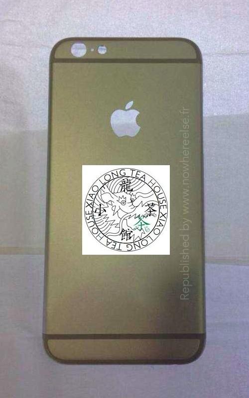 Rò rỉ vỏ kim loại của iPhone 6