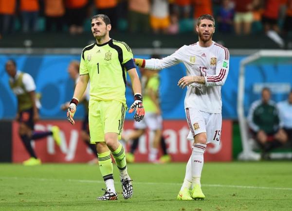 Hiệp một kết thúc với tỉ số hòa nhưng không ai có thể ngờ 45 phút sau đó Hà Lan thi đấu tưng bừng