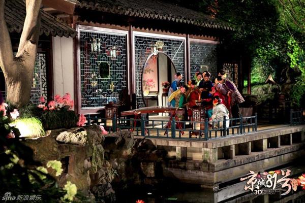Lâm Tâm Như đẹp u sầu trong 'ngôi nhà ma'