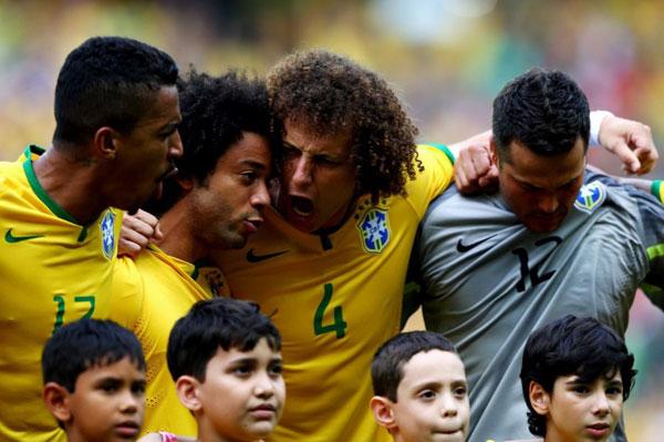 David Luiz, Marcelo và các đồng đội biểu thị sự quyết tâm trước giờ so tài với đối thủ đến từ Trung Mỹ.