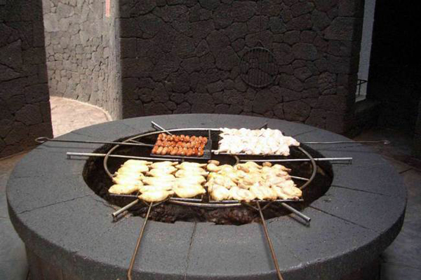 This restaurant has harnessed the energy of the volcano it neighbours to cook its traditional Canarian food.  A very simple concept, a metal grill over a volcanic vent is used to cook food, allowing customers to enjoy their meals while looking out on the Martian-esque landscape surrounding the volcano.  This certainly puts the instant barbecue you bought from the petrol station to shame.