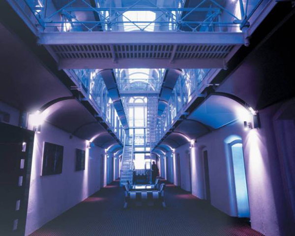 You dont need to travel abroad for a unique eating experience. This converted prison offers you the chance to eat haute cuisine where formerly prisoners ate their porridge.  This nineteenth century prison has been used as a setting for Oxford-based crime drama Lewis and has won architectural awards for its impressive conversion.