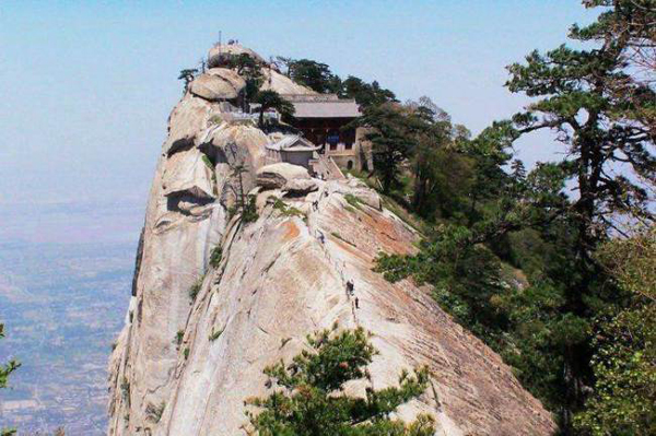 This restaurant situated in an ancient Daoist temple on the most southern peak of Mount Hua sounds the perfect setting for a Kung Fu film, let alone a very special meal.  A cup of tea at this location might just beat a pot of tea with your mum at in the converted scullery of a local stately home.