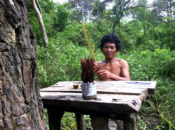 di rung 13 8888 1403266903 Gia đình người rừng ở Bình Thuận