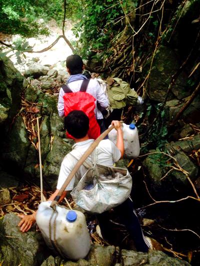 di rung 1a 7677 1403266902 Gia đình người rừng ở Bình Thuận