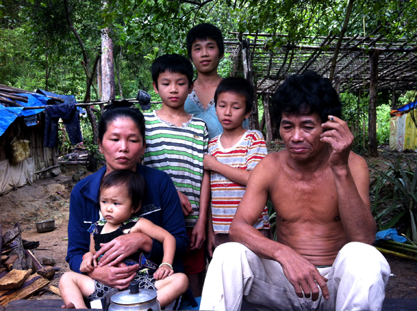 di rung 5 5200 1403266902 Gia đình người rừng ở Bình Thuận