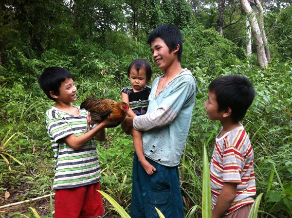 di rung 6 8983 1403266902 Gia đình người rừng ở Bình Thuận