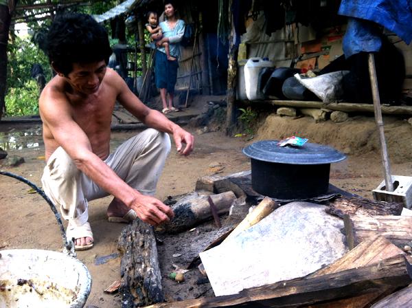 di rung 7 5526 1403266902 Gia đình người rừng ở Bình Thuận