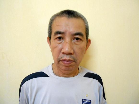 Nguyễn Đức Tiến tại cơ quan điều tra.