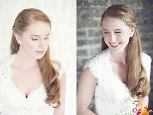Cô dâu biến hóa với nhiều cách trang điểm