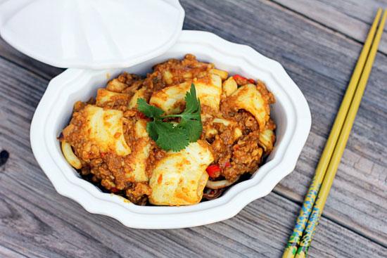 Món ăn thoang thoảng vị cà ri giúp bạn