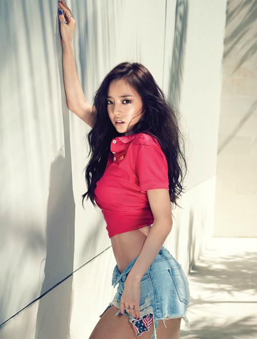 Nhan sắc của những 9X hot nhất xứ Hàn