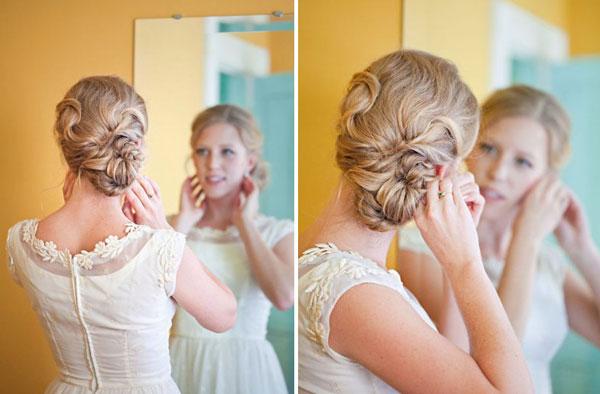9 kiểu tóc búi yêu thích của cô dâu mùa hè
