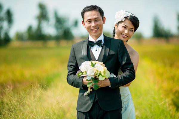 Ảnh cưới miền Tây của cặp đôi người Nhật
