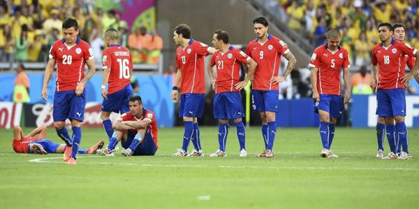 ội bóng nam Mỹ thi đấu kiên cường, lăn xả trước đối thủ được đánh giá cao hơn nhưng may mắn lại không đứng về phía họ.