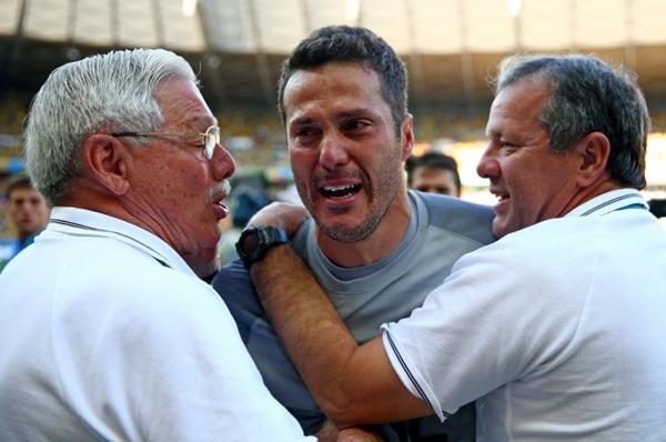 Cựu thủ môn Inter được bầu là Cầu thủ hay nhất trận đấu.