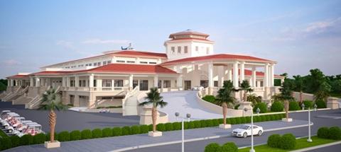 Đây là trung tâm hội nghị tiệc cưới nằm trong sân golf, được xây dựng trên khuôn viên 10.000m2, tổng diện tích sử dụng trên 30.000m2, bao gồm 3 sảnh yến tiệc và một nhà hàng sang trọng được đầu tư trang thiết bị hiện đại, có sức chứa lên đến 1.500 khách.