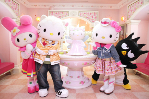 Hello Kitty land.