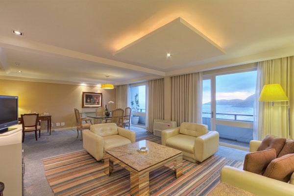 Mỗi căn phòng của khách sạn đều có diện tích khá lớn