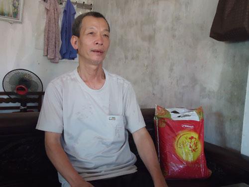 Ông Hòa, một người từng có thời gian làm thủ từ tại đình