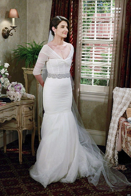 Những chiếc váy cưới nổi bật trong phim Mỹ