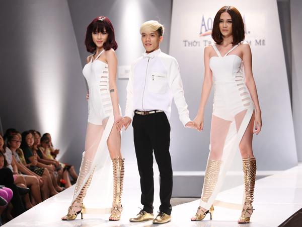 NTk Tuấn Trần cùng Thiều Bảo Trâm và Thiều Bảo Trang.