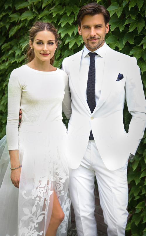 Bộ váy cưới `ba mảnh` của Olivia Palermo