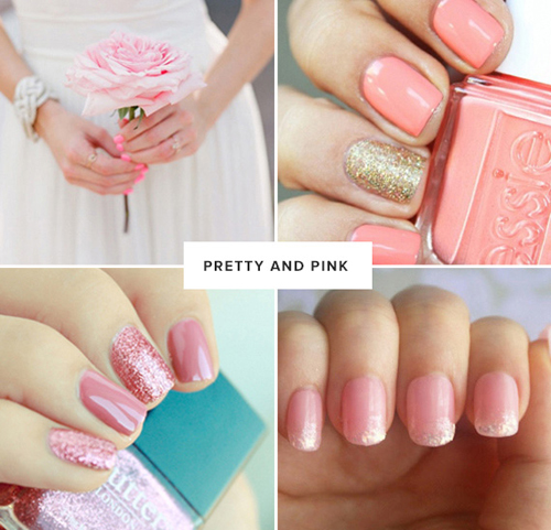 Cô dâu sáng tạo với thời trang nail