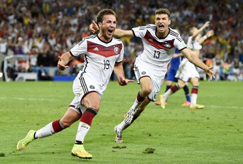 Lượt tweet tăng đột biến sau khi Mario Gotze ghi bàn thắng quyết định ở cuối hiệp phụ thứ hai. Ảnh: Reuters.