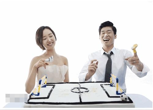 Park Ji Sung và vợ sắp cưới Kim Min Ji