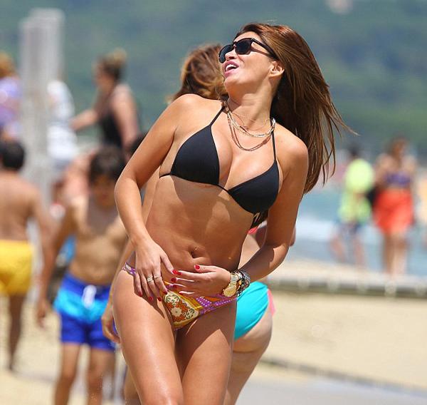Sabia là vợ cũ của cựu tuyển thủ Hà Lan Khalid Boulahrouz