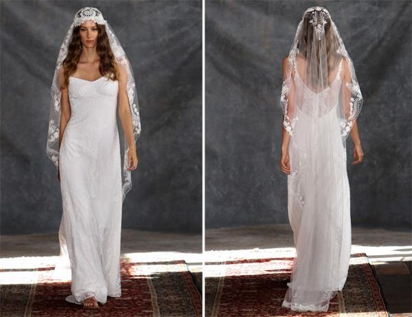Váy cưới Claire Pettibone lãng mạn đậm chất thơ