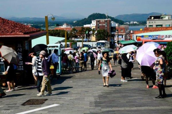 Đảo Jeju còn có nhiều điểm đến thú vị, hấp dẫn để du khách khám phá như thác Cheonjiyeon, làng Hamdeok, vách đá Jusangjeolli, làng dân tộc Seongeup, bãi biển Yongduam, công viên tình yêu Love Land và tham quan, mua sắm tại phố Tapdong nhộn nhịp.