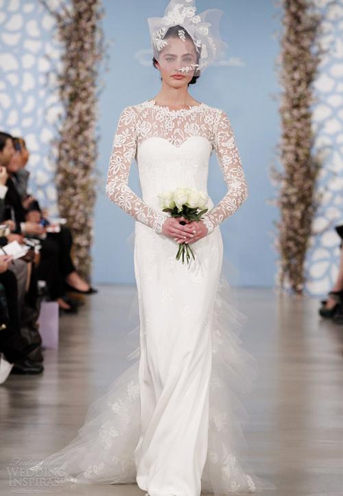 oscar-de-la-renta-2014-bridal-long-sleev