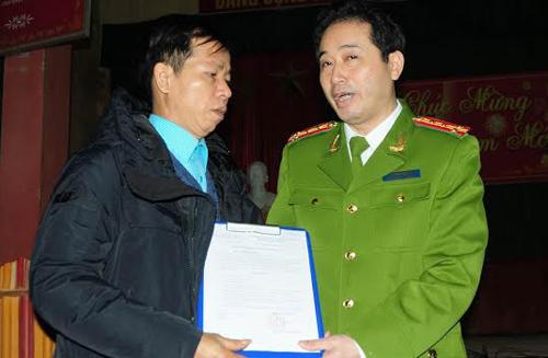[Caption]Ngày 25/1, ông Nguyễn Thanh Chấn được công bố vô tội sau 10 năm bị bắt oan.
