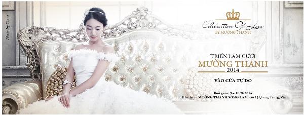 """Triển lãm cưới """"Celebration of Love by Mường Thanh"""" sẽ diễn ra tại khách sạn Mường Thanh Sông Lam"""
