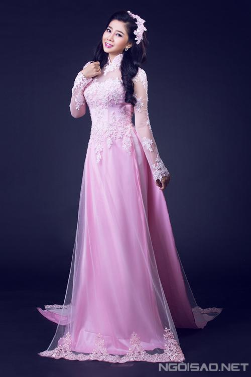 6 chiếc áo dài cưới tinh xảo của Mai Phương