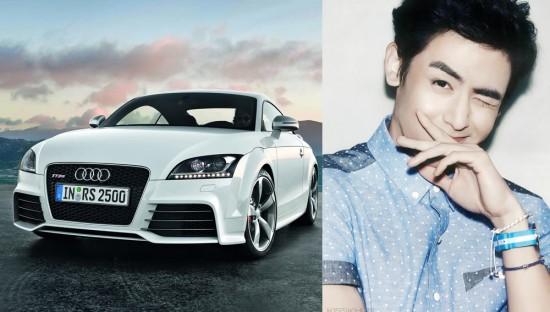 Thành viên 2PM, Nichkhun sở hữu chiếc xe