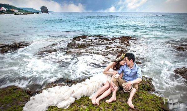 Khoảnh khắc đẹp khi chụp ảnh cưới ở biển